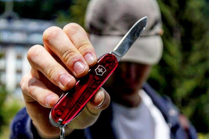 comprar victorinox hiker ebay